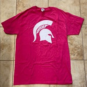 🔥5/$15🔥 Michigan State pink out shirt